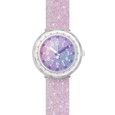 Flik Flak Imagination Pearlaxus Kinderuhr in Pink FCSP107