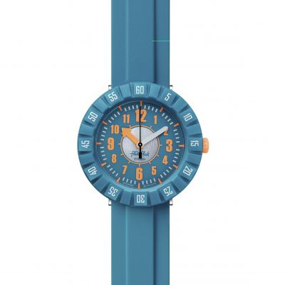 Flik Flak Imagination Teal My Mind Kinderuhr in Blau FCSP099