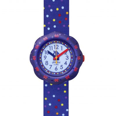 Flik Flak Imagination Sprinkles Kinderuhr in Blau FPSP048