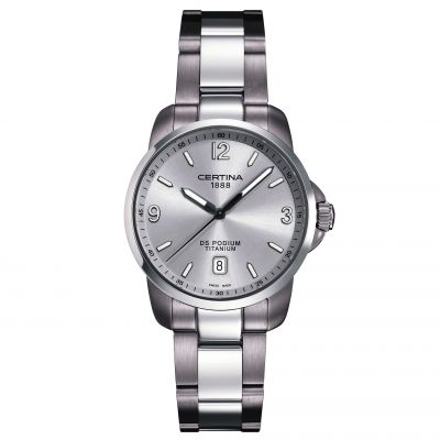 Certina Gents DS Podium Herrklocka Silver C0014104403700