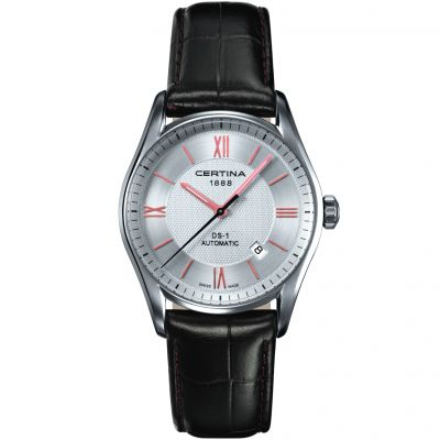 Certina Gents DS-1 Automatic Herrklocka Brun C0064071603801
