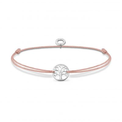 Joyería para Mujer THOMAS SABO Jewellery Pink Tree of Love Little Secrets Bracelet LS125-401-19-L20V
