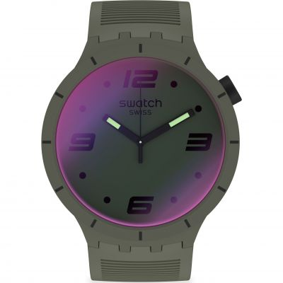 Reloj para Unisex Swatch Futuristic Green SO27M105
