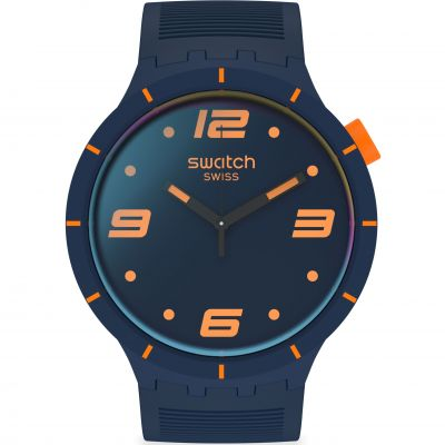 Reloj para Unisex Swatch Futuristic Blue SO27N110