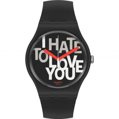 Reloj para Unisex Swatch Hate 2 Love SUOB185