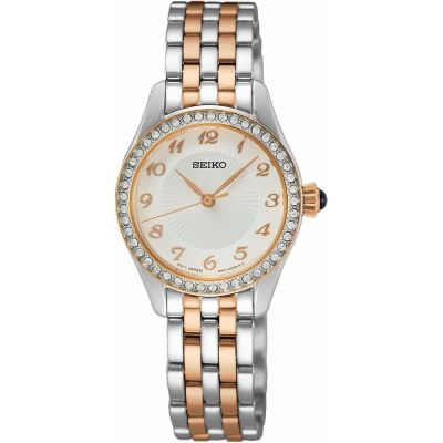 Seiko Damklocka Two-Tone Rose SUR386P1