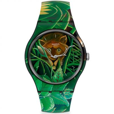 Montre Unisexe Swatch The Dream By Henri Rousseau, The Watch SUOZ333