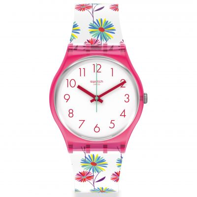 Swatch Original Gent Botanicose Damenuhr in Mehrfarbig GP171