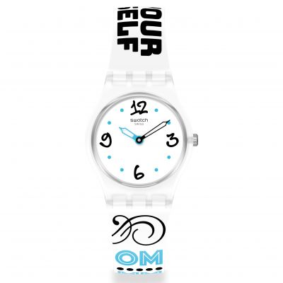 Montre Femme Swatch #Bluefeather LW171