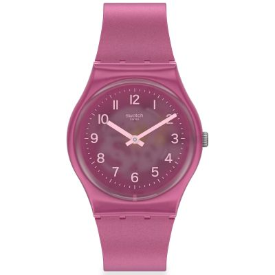 Swatch Original Gent Blurry Pink Damenuhr in Pink GP170