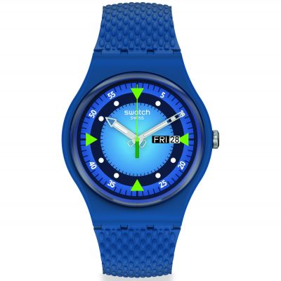 Montre Homme Swatch Blue Blend SO29N701