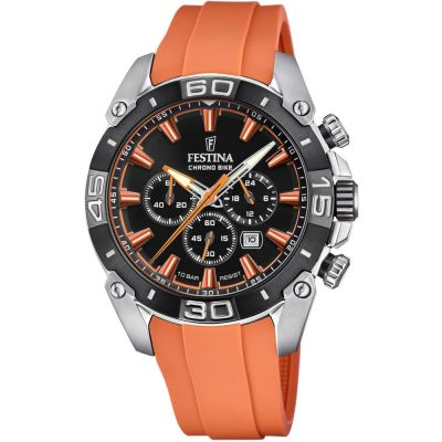 Festina Chrono Bike 2021 Herrkronograf Orange F20544/5