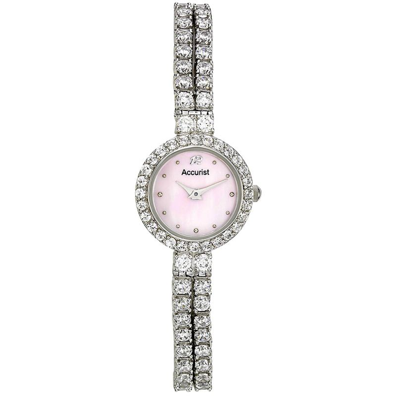 Ladies Accurist Sparkle Watch LB1192PP
