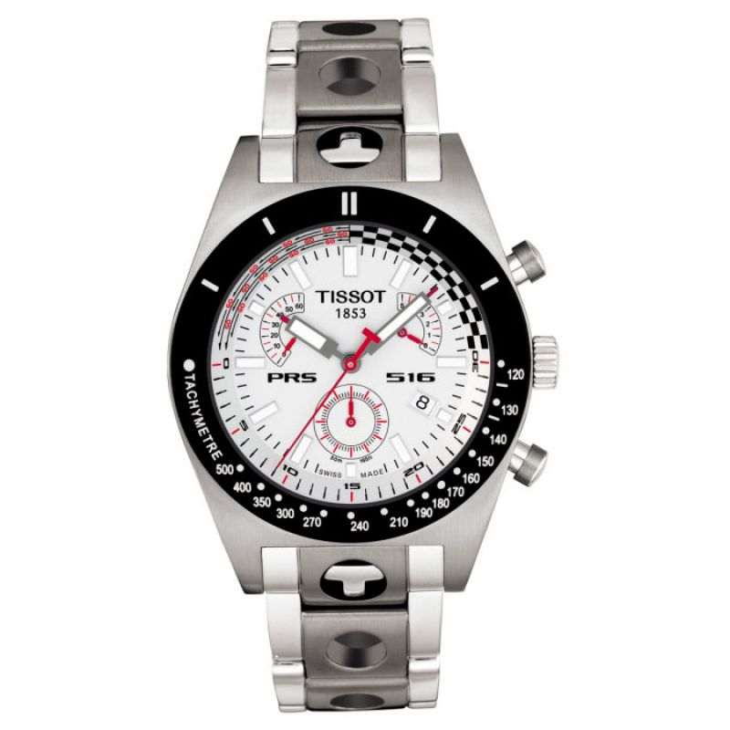 Mens Tissot PRS516 Retrograde Chronograph Watch T91148831