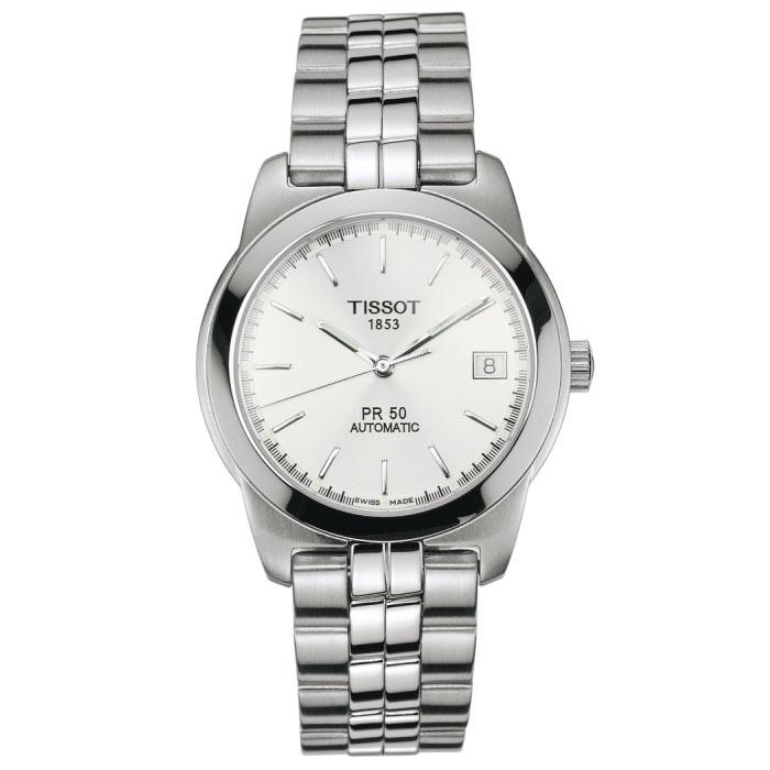 gents tissot pr50 watch t34148331 watchshop com rh watchshop com Tissot T-Sport Titanium tissot 1853 pr50 titanium manual