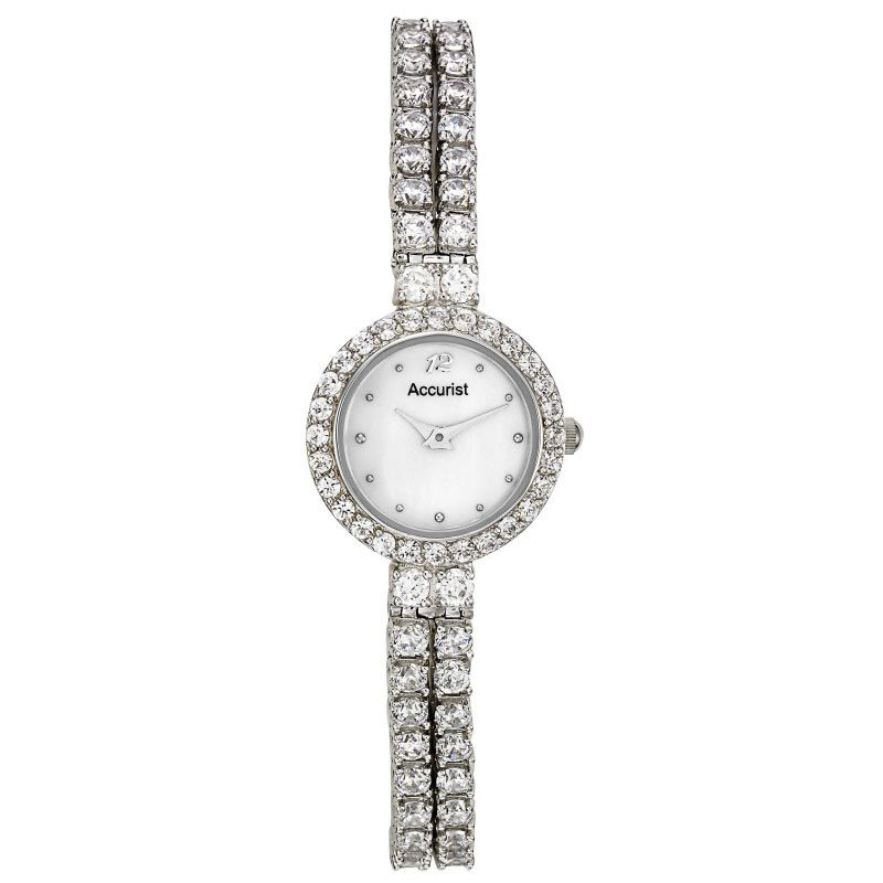 Ladies Accurist Sparkle Watch LB1192P
