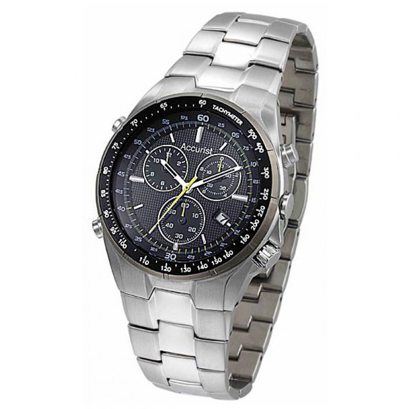 Mens Accurist Chronograph Watch MB735B