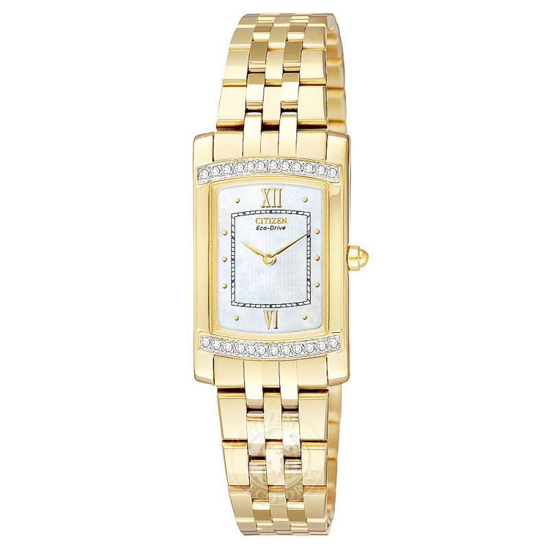 Ladies Citizen Stiletto Diamond Watch EG3122-57D