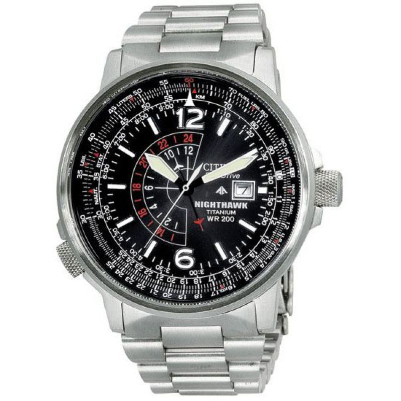 Mens Citizen Titanium Watch BJ7000-52E