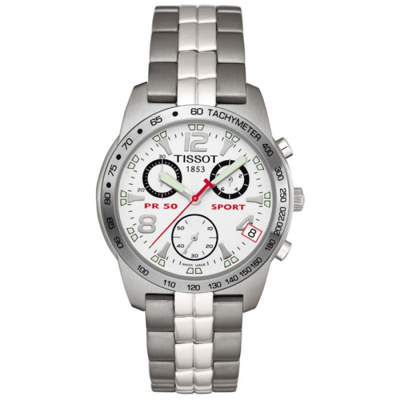 Mens Tissot PR50 Chronograph Watch T34158832