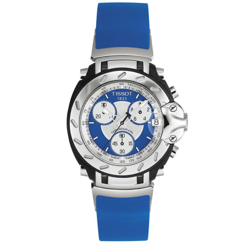 Mens Tissot T-Race Chronograph Watch T0114171704100
