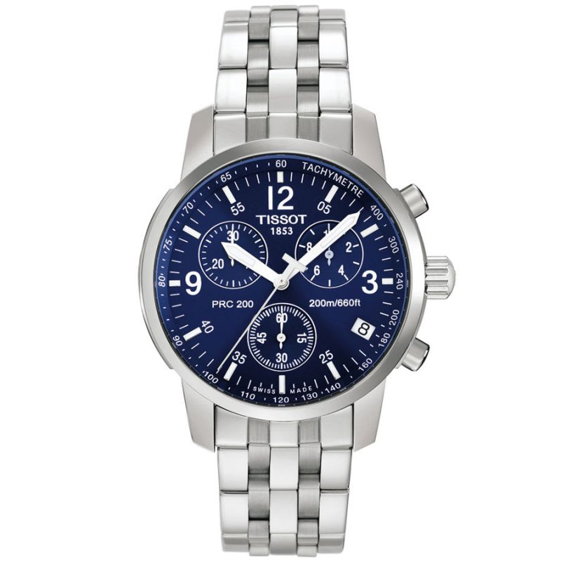 Mens Tissot PRC200 Chronograph Watch T17158642