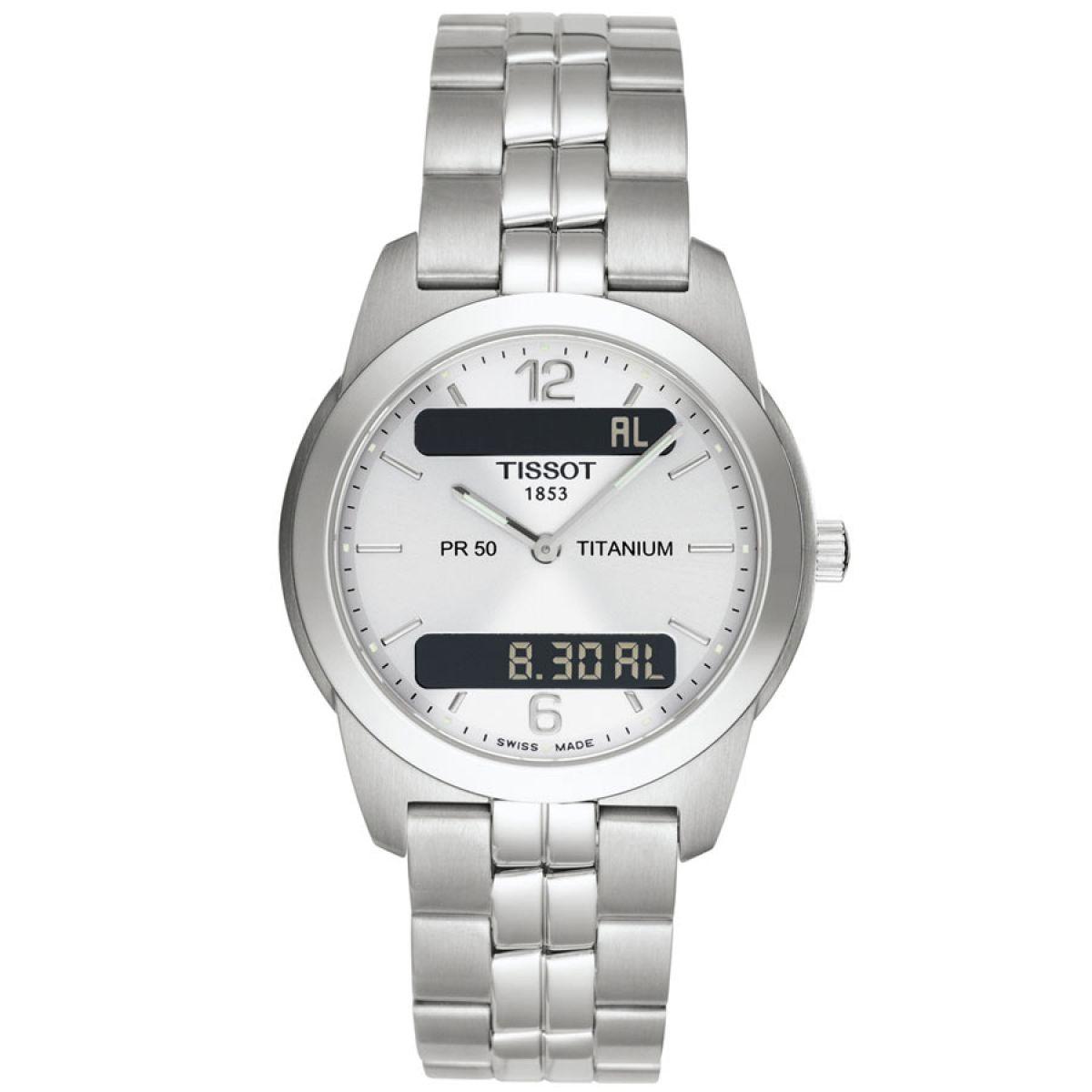 gents tissot pr50 seven chronograph watch t34748732 watchshop com rh watchshop com Tissot T-Sport Titanium Tissot T-Sport Titanium