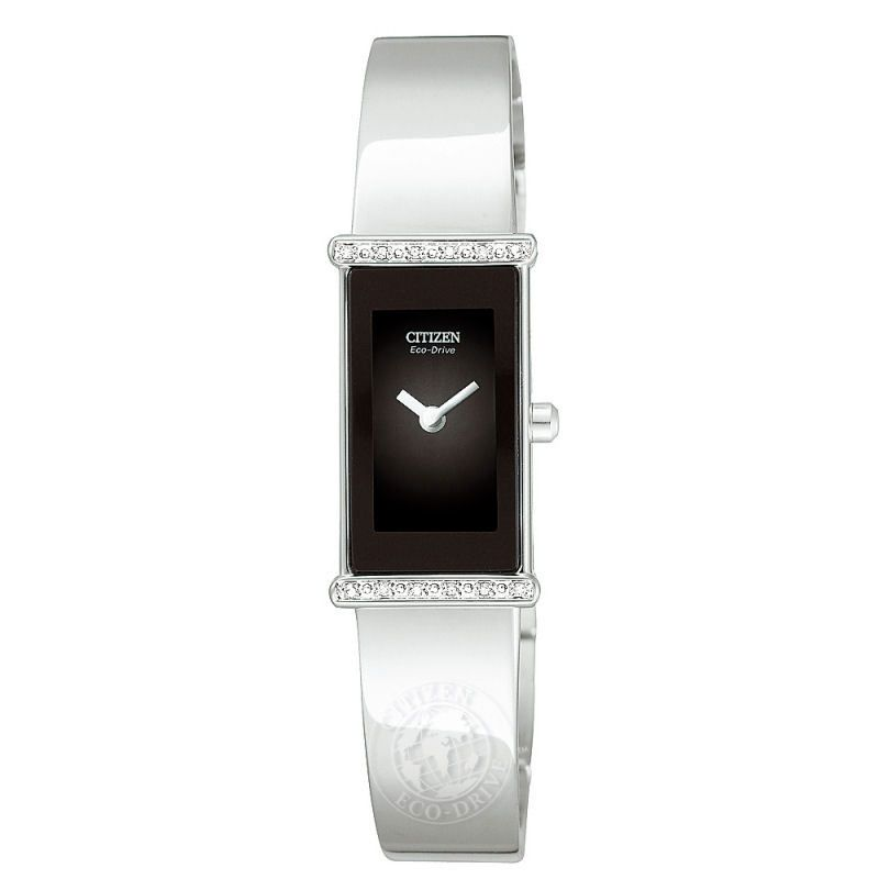Ladies Citizen Silhouette Diamond Watch EG2490-59E