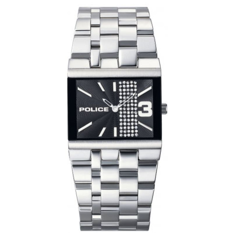 Unisex Police Glamour Watch 10501BS/02M