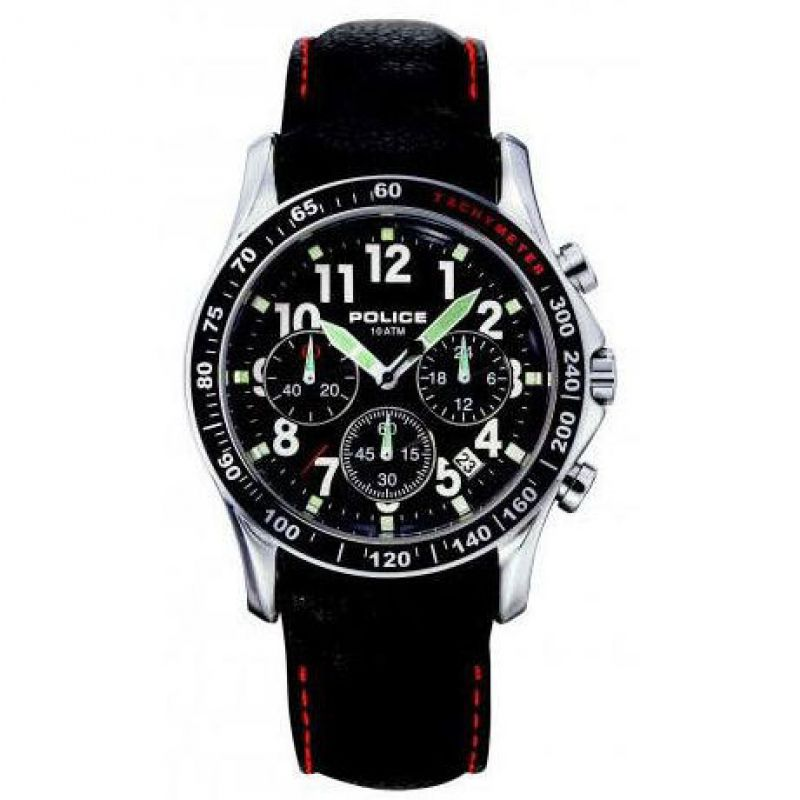 Mens Police Fast Lane Chronograph Watch 11306JS/02