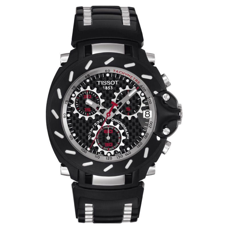 Mens Tissot T-Race Chronograph Watch T0114172220100