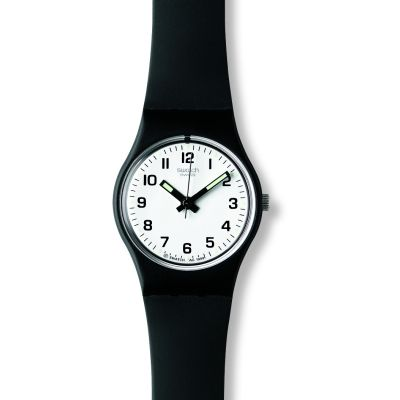 Swatch Originals Lady Something New Damenuhr in Schwarz LB153