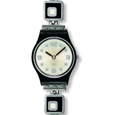 Ladies Swatch Chessboard Watch LB160G