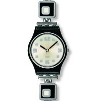 Ladies Swatch Chessboard Watch