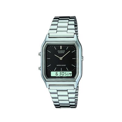 Casio Classic Herrenchronograph in Silber AQ-230A-1DMQYES