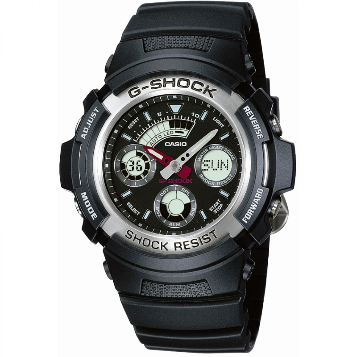 casio a158we how to change alarm