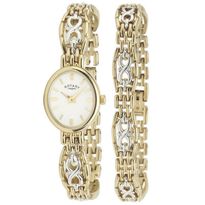Ladies Rotary Watch LB02130/BR/02