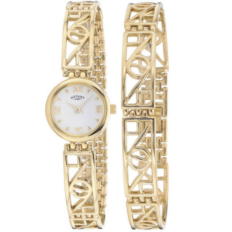 Ladies Rotary Watch LB02178/BR/01