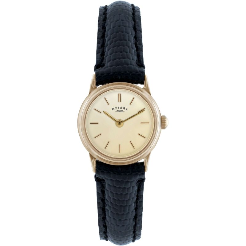 Ladies Rotary 9ct Gold Watch LS11476/03