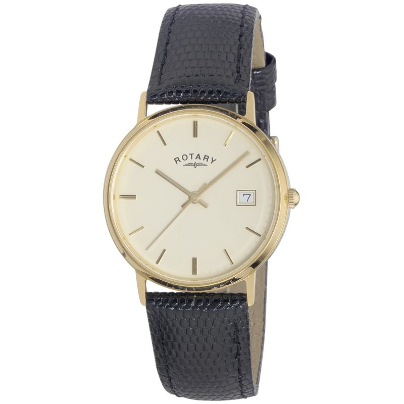 Mens Rotary 9ct Gold Watch GS11476/03