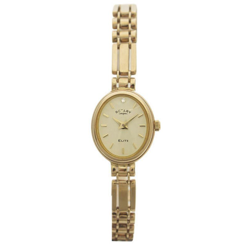 Ladies Rotary 9ct Gold Watch LB11138/12