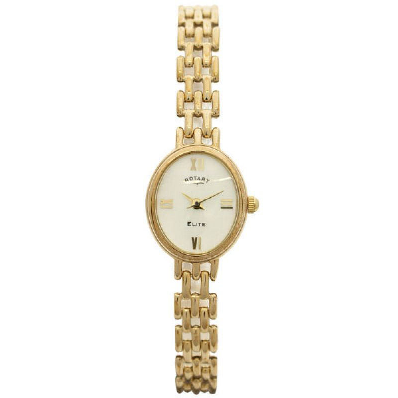 Ladies Rotary 9ct Gold Watch LB10161/07