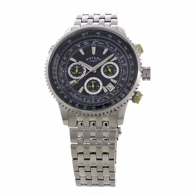Chronograph Gb0064405 Mens Pilot Watch Rotary 0Pvm8nyNwO