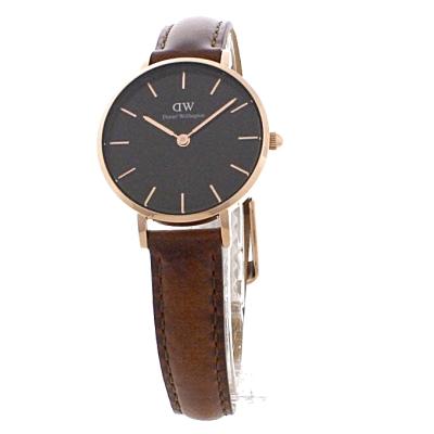 cd06b3851d18 Ladies Daniel Wellington Classic Petite 28 St Mawes Black Watch ...
