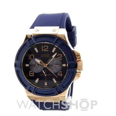 Gents Guess Rigor Watch (W0247G3)  95492db9551