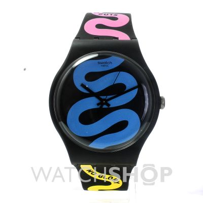 1d5b421718c Unisex Swatch No Guts No Glory Watch (SUOB108)