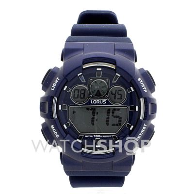 Gents Lorus Alarm Chronograph Watch R2337jx9 Watchshop
