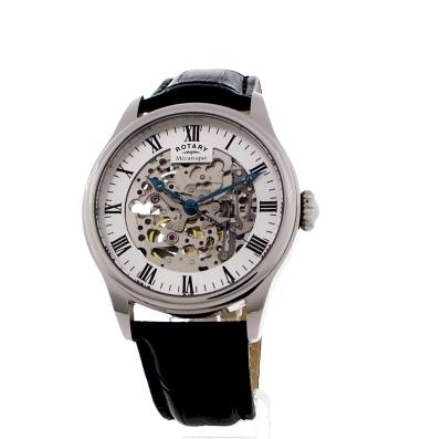 3d0d6f39fd91 Gents Rotary Vintage Mecanique Skeleton Watch (GS02940 06 ...