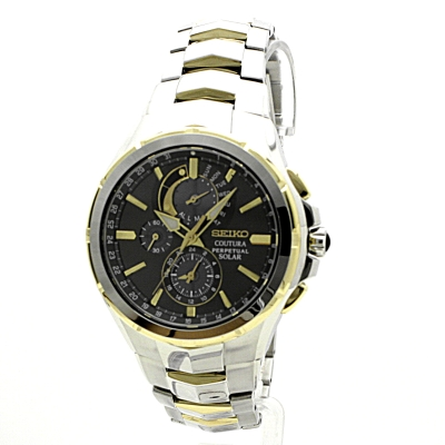 Gents Seiko Coutura Perpetual Watch Ssc376p9 Watchshop