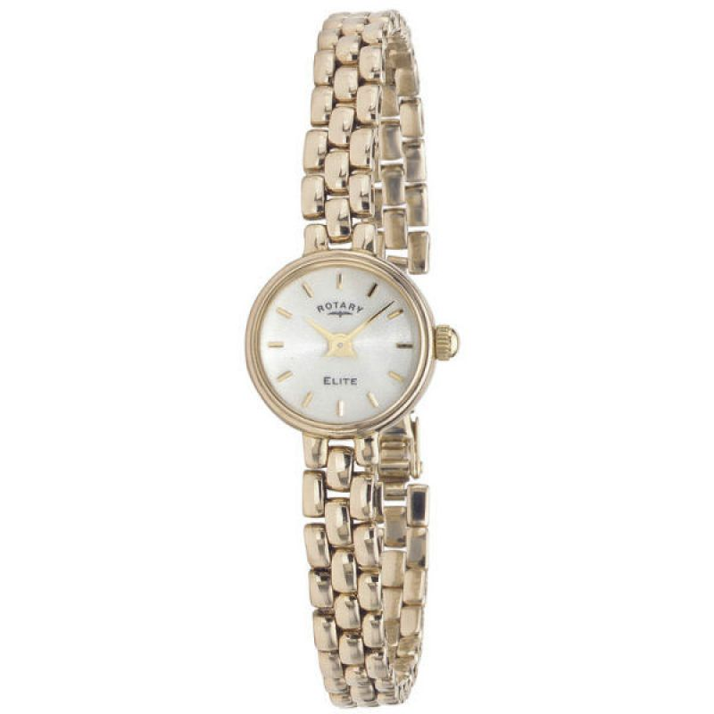 Ladies Rotary 9ct Gold Watch LB10206/08